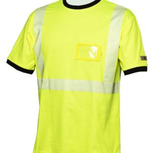 Priha huomio t-paita keltainen