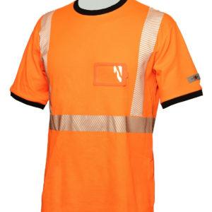 Priha huomio t-paita oranssi